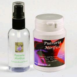 Pueraria Mirifica Spray & Capsules